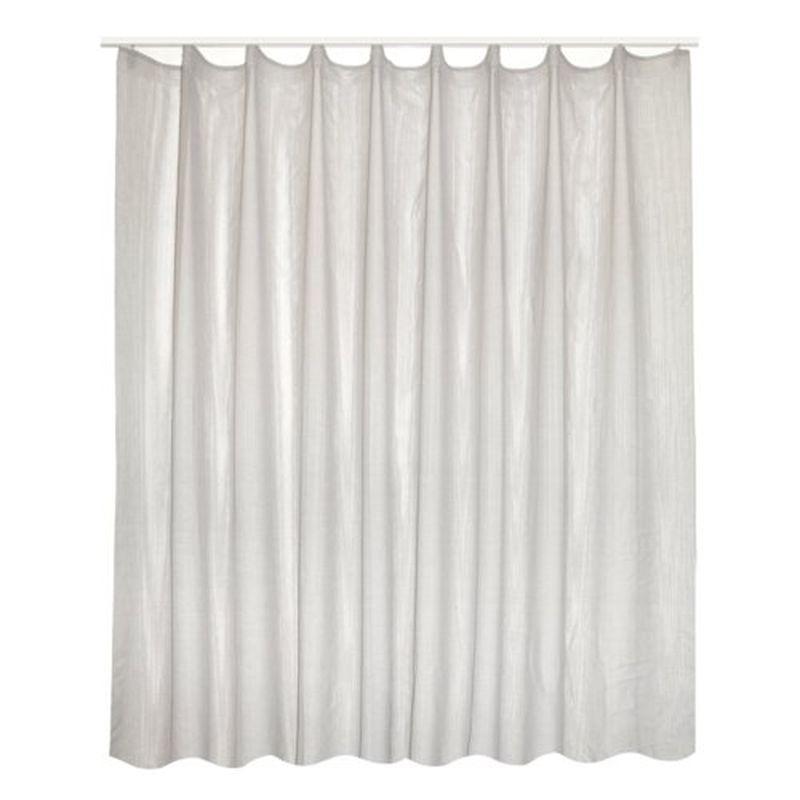 Тюль на ленте «Санлео» 300х260 см цвет серый