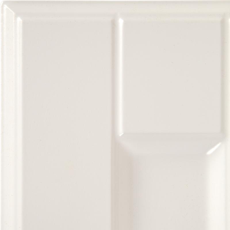 Дверь для шкафа Delinia «Леда белая» 15x70 см, МДФ, цвет белый