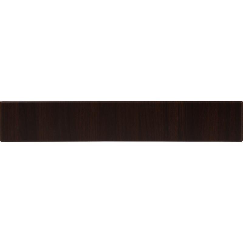 Дверь для кухонного шкафа под духовку «Византия», 60х15 см, цвет тёмно-коричневый
