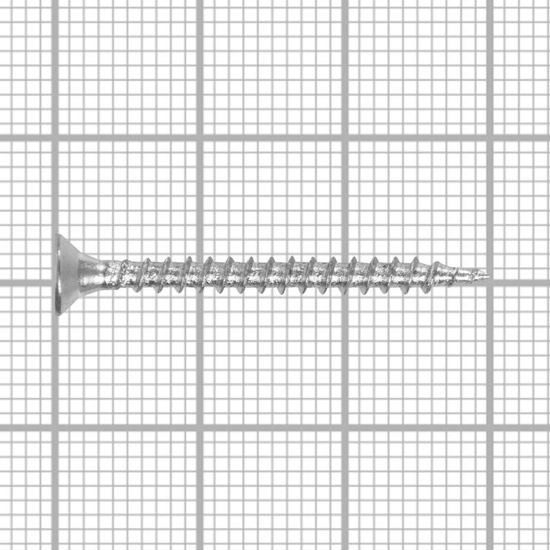 Саморезы универсальные оцинкованные 3,0х30мм (25 шт)