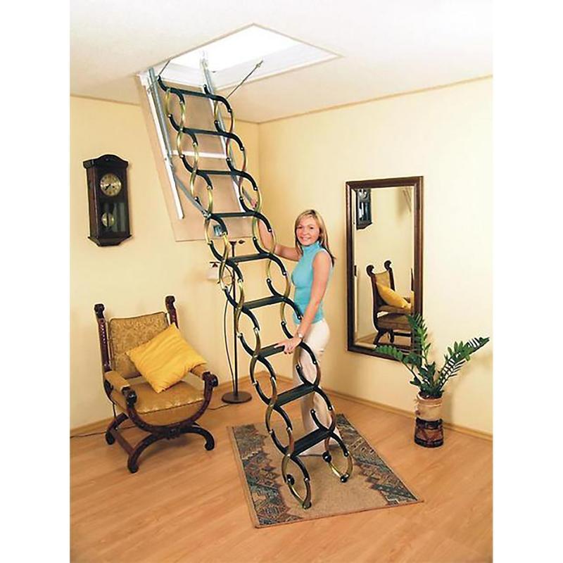 Лестница чердачная Nozycowe 70х80х300 см