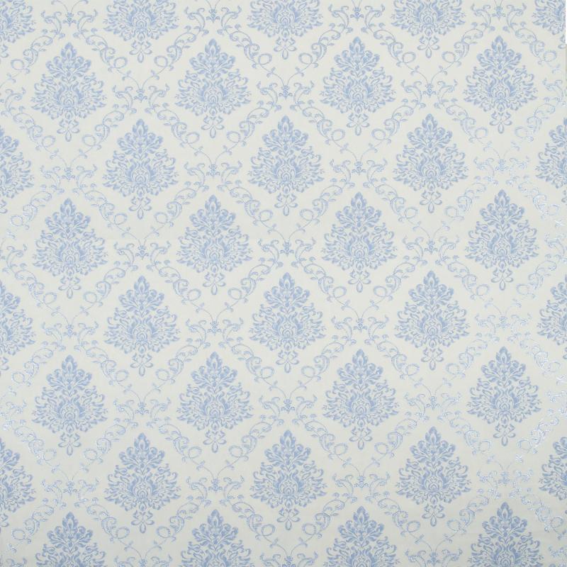 Обои флизелиновые 1.06х10 м вензеля цвет голубой АС Пал 70061-16