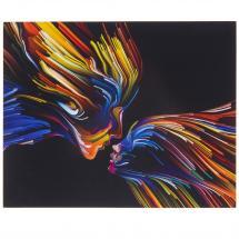 Картина без рамы 40х50 см «Цвета любви»