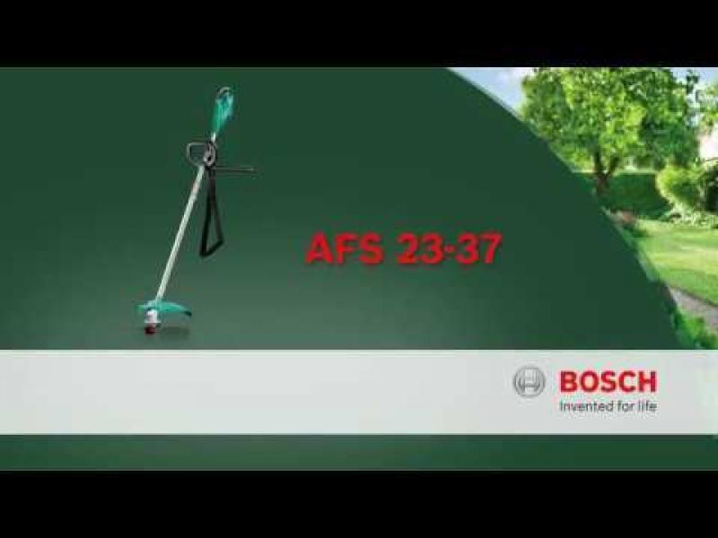 Мотокоса электрическая Bosch AFS 23-37, 1000 Вт