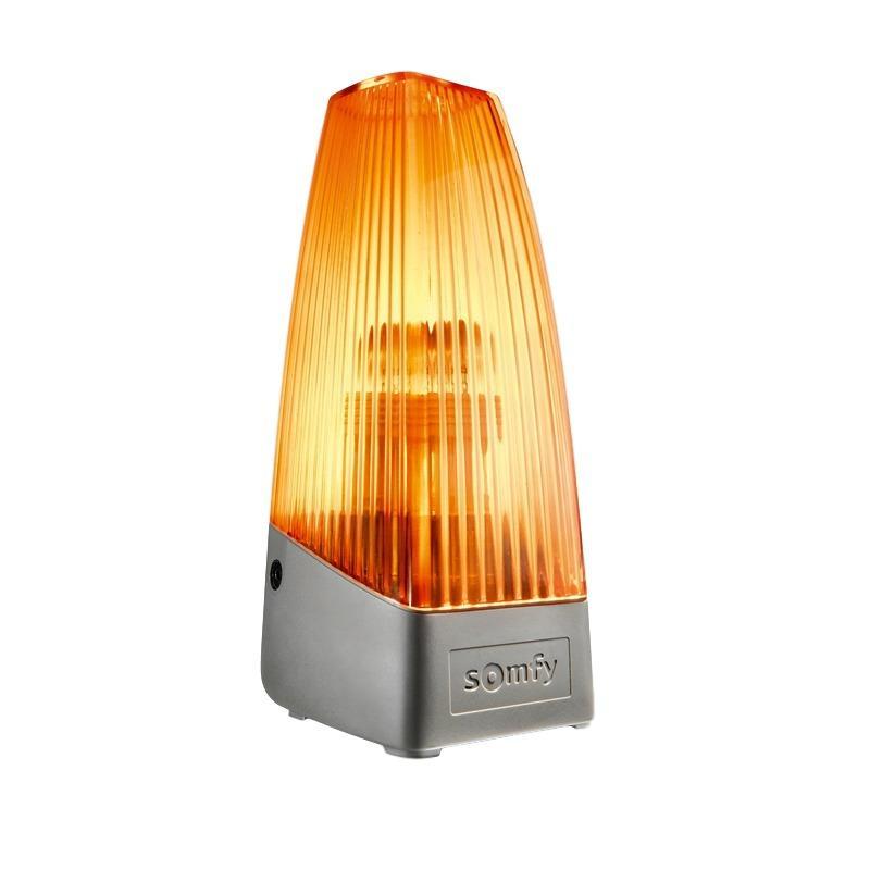 Сигнальная лампа безопасности Somfy, 60х175х77 мм, цвет оранжевый, IP 54