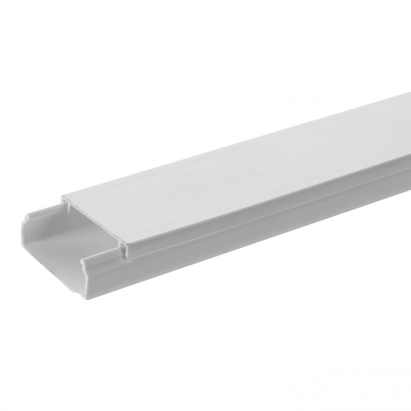 Кабель-канал Экопласт Mex 16х40 мм цвет белый, 2 м