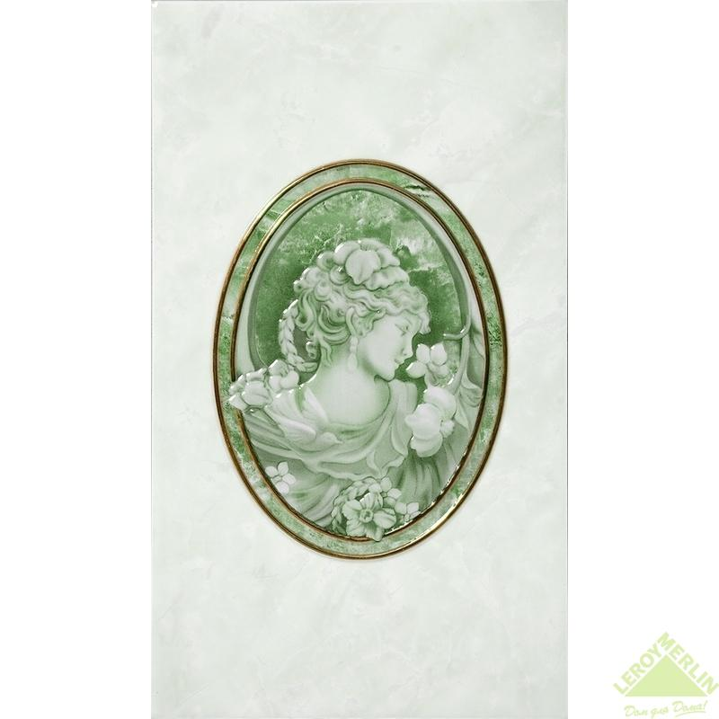 Декор PIETRA, цвет зелёный, 23x40 см