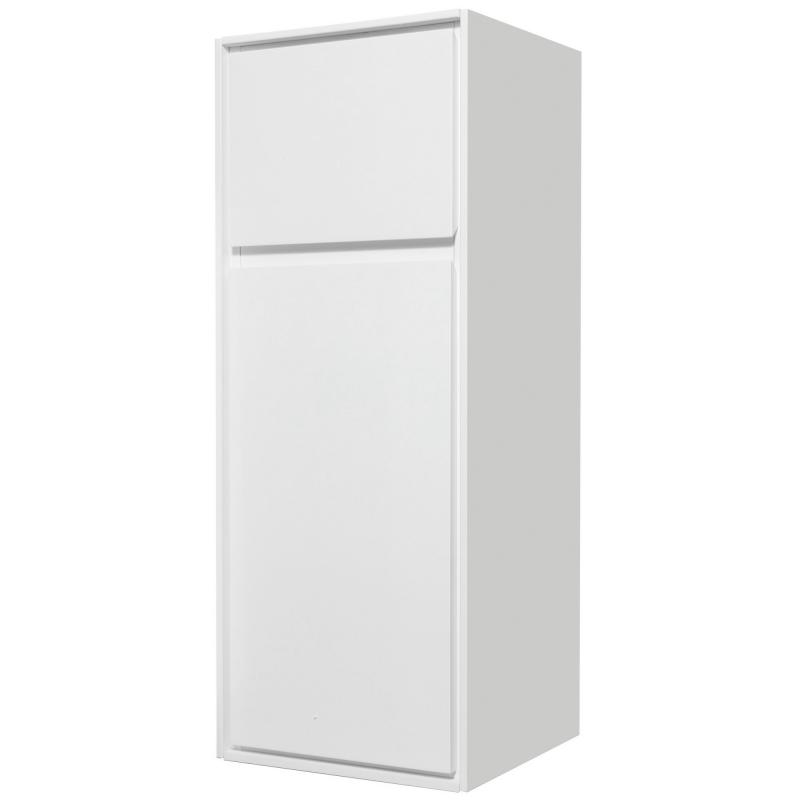 Пенал малый «Мокка» 35 см, цвет белый глянец
