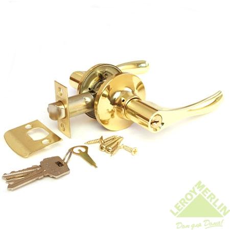 Ручка-защёлка межкомнатная Apecs 8010-01-G (золото)