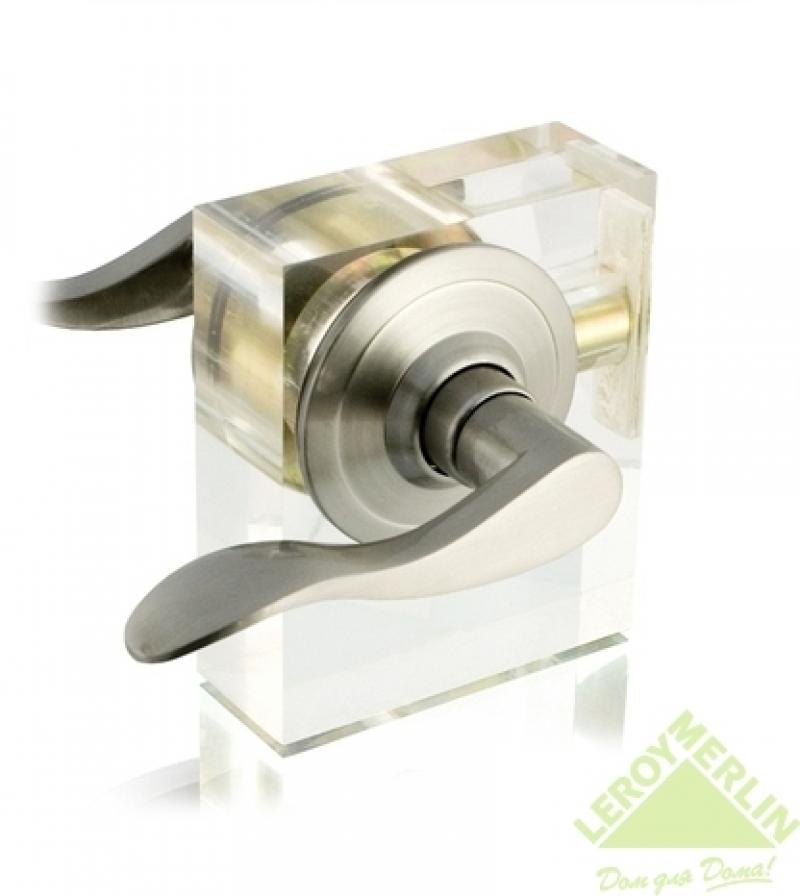 Ручка фалевая EURO 3801-SN-ET с ключом, никель