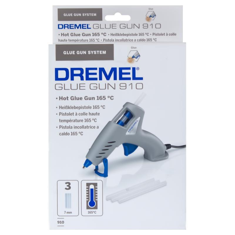 Пистолет клеевой Dremel 910, для стержней 7 мм