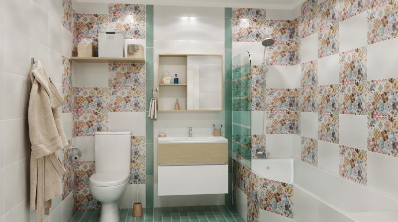 Ширма для ванны Nerea 130x76 см цвет белый
