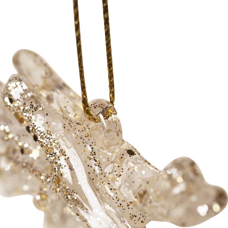 Украшение ёлочное «Шишки в золоте», 9 см, полистирол
