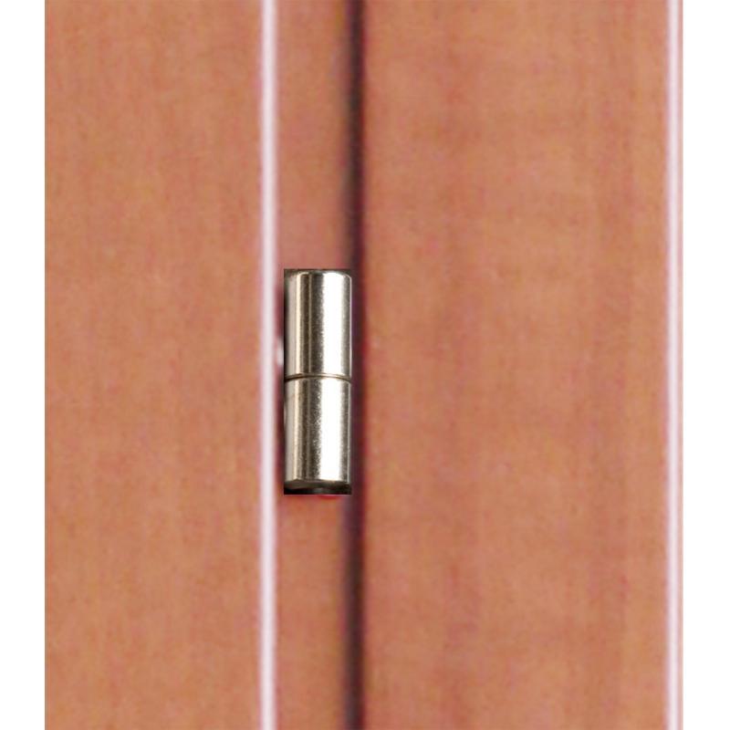 Дверь межкомнатная Танганика глухая CPL 60х200 см (с замком)
