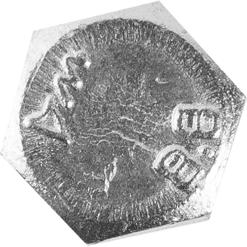 Болт DIN 933 M6x20 мм, на вес