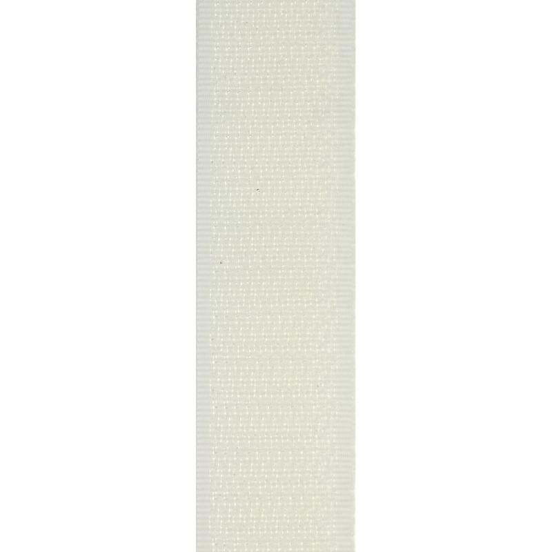 Лента с крючками и липким слоем матовая 2,5 см
