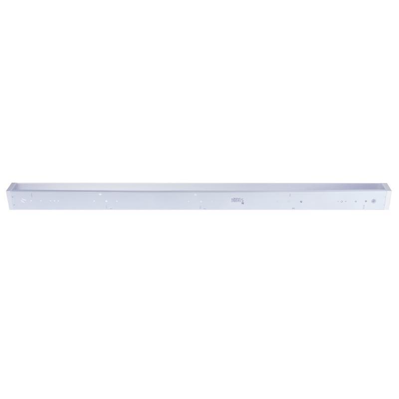 Светильник люминесцентный ЛПО12 1хТ8х40 Вт, IP20, металл/стекло, цвет белый