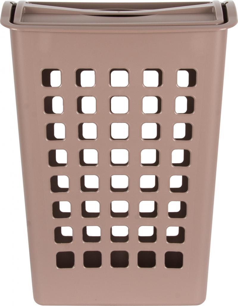 Корзина для белья цвет коричневый