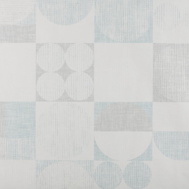 Обои флизелиновые 0.53х10 м геометрия цвет синий АС 306443