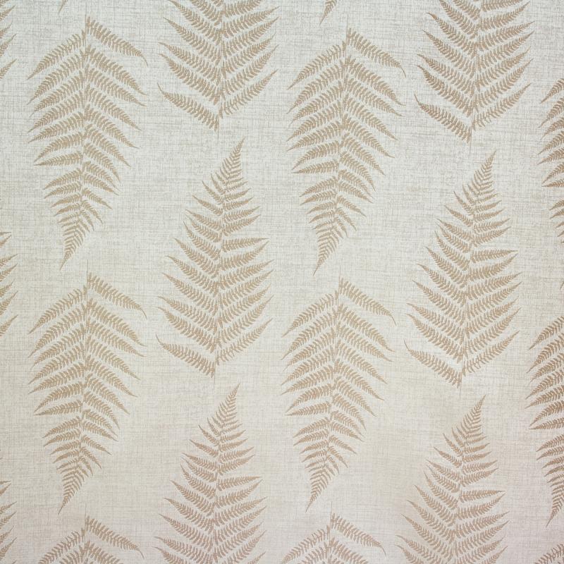 Ткань 1 п/м «Папоротник», жаккард, 300 см, цвет натуральный