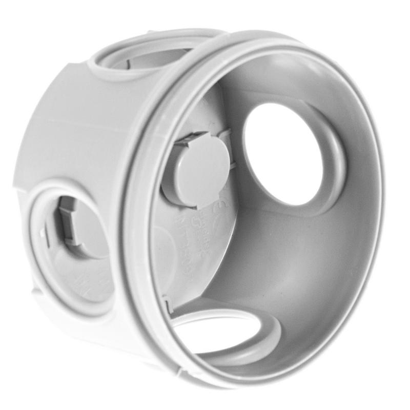 Коробка распределительная круглая  Schneider Electric 65x45 мм цвет серый