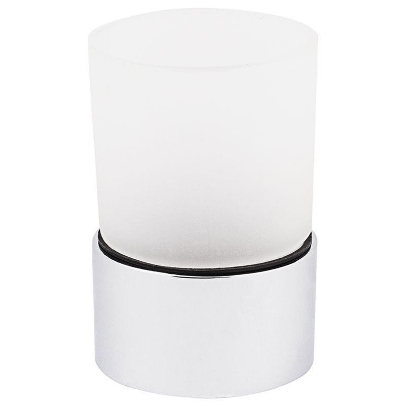 Стакан для зубных щёток настольный Fixen «Kvadro 2» стекло цвет белый