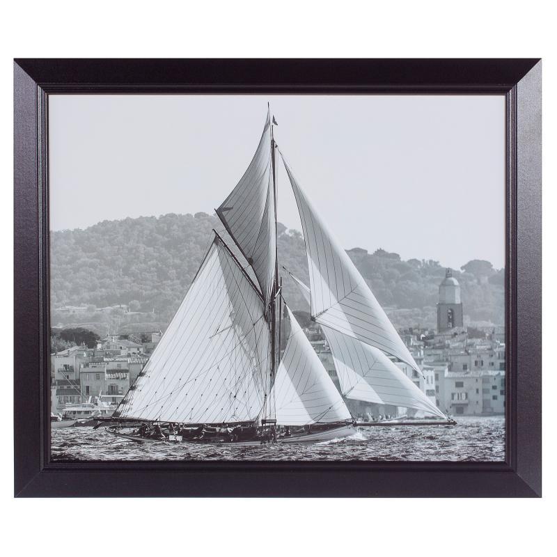 Постер в раме 40х50 см «Saint-Tropez»