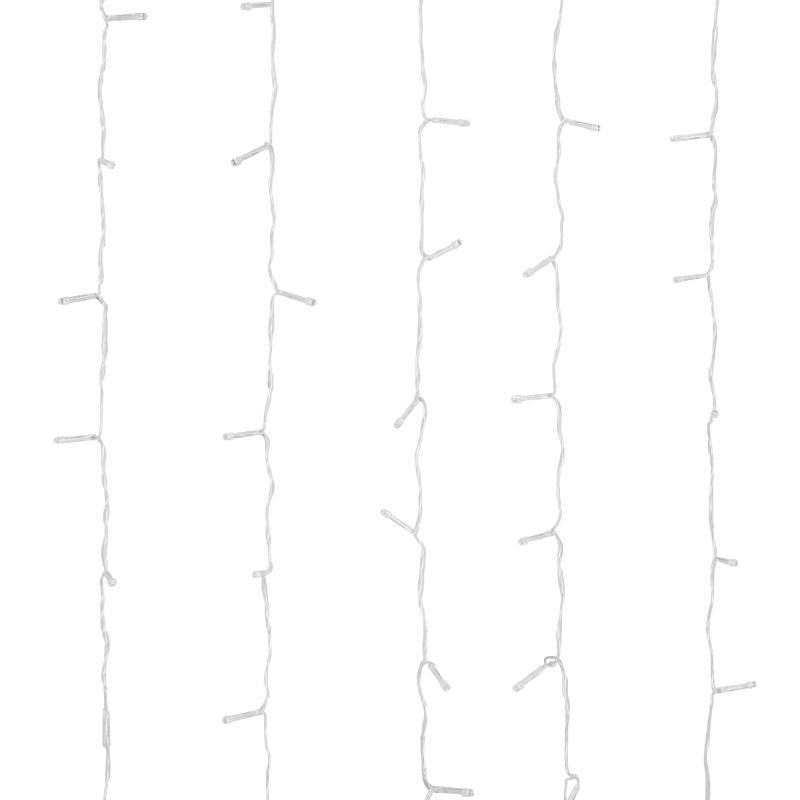 Электрогирлянда светодиодная «Занавес» для дома 240 ламп 3x2 м, цвет жёлтый