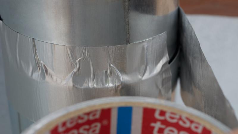 Лента алюминевая Tesa, 50 мм х 10 м