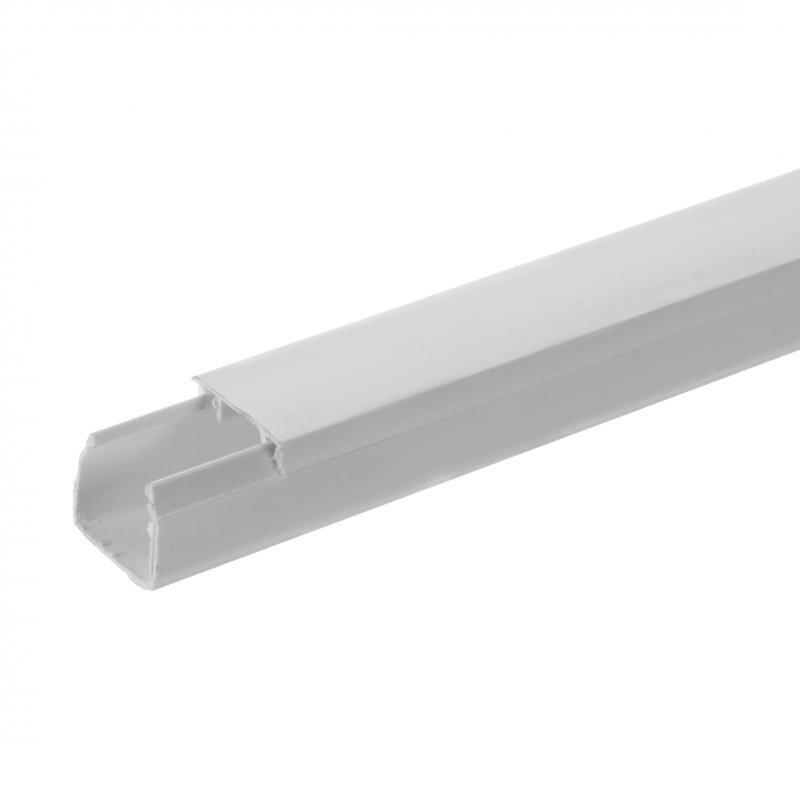 Кабель-канал Экопласт Mex 16х16 мм цвет белый, 2 м