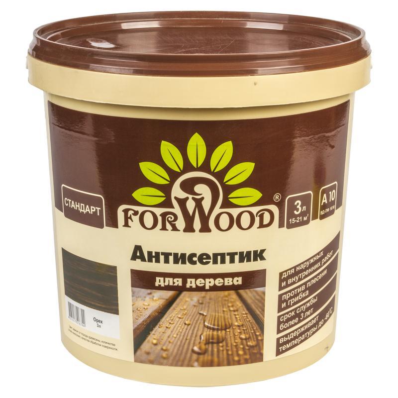 Антисептик Forwood цвет орех 3 л
