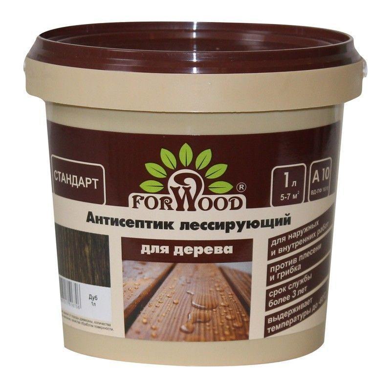 Антисептик Forwood цвет дуб 1 л