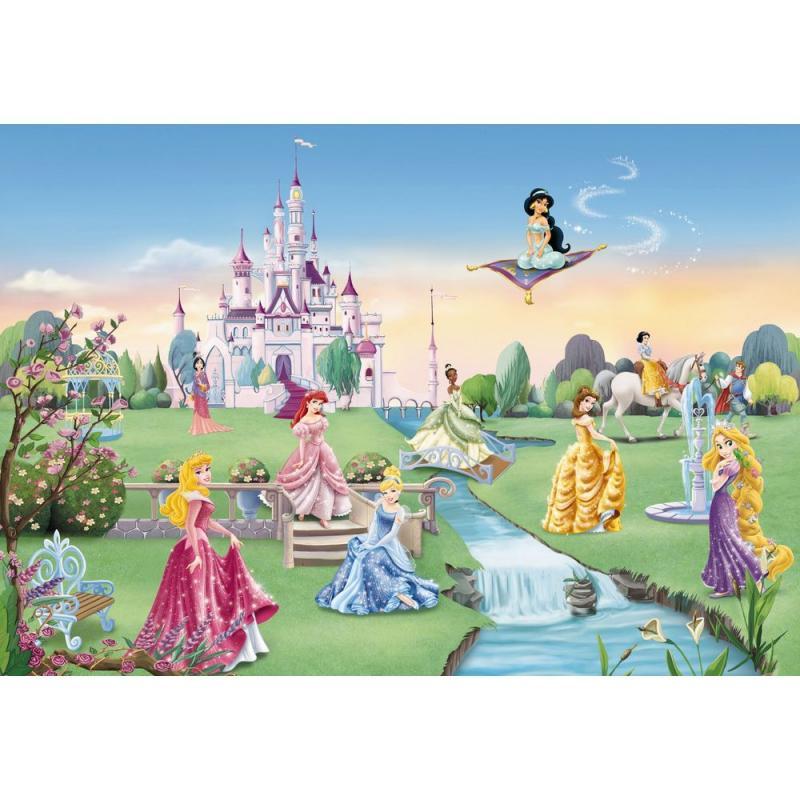 Фотопанно бумажное «Princess Castle» 368х254 см