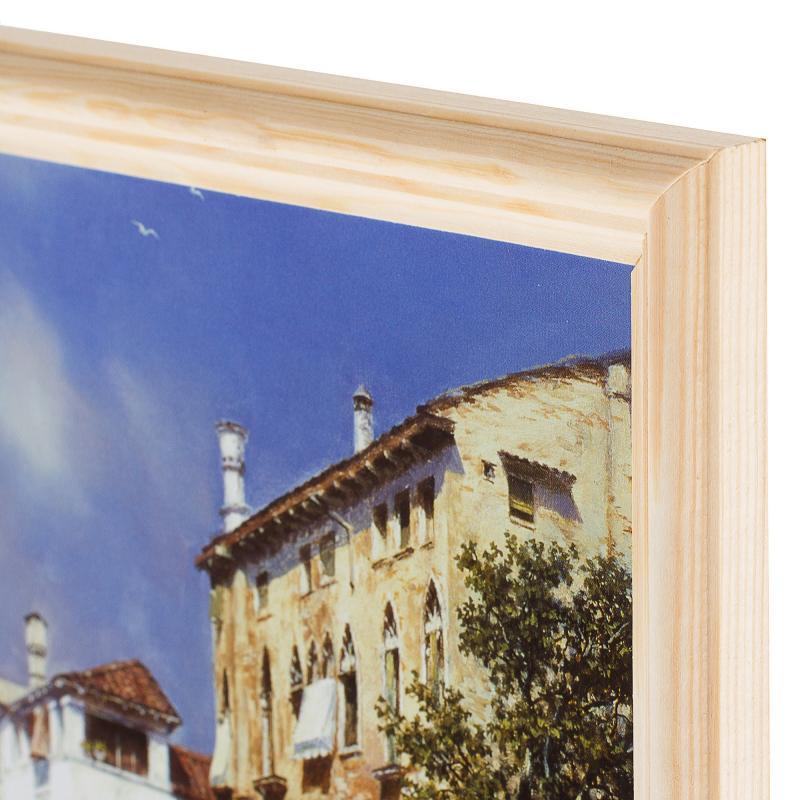Постер в раме 20х25 см «Солнечная Венеция»