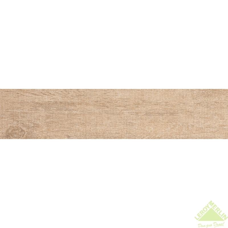 Керамогранит Каравелла, цвет бежевый, 15х60 см, 1,44 м2