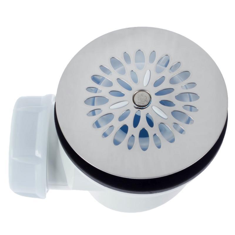 Сифон для душевого поддона Sas с декоративной крышкой слив 40 мм пластик