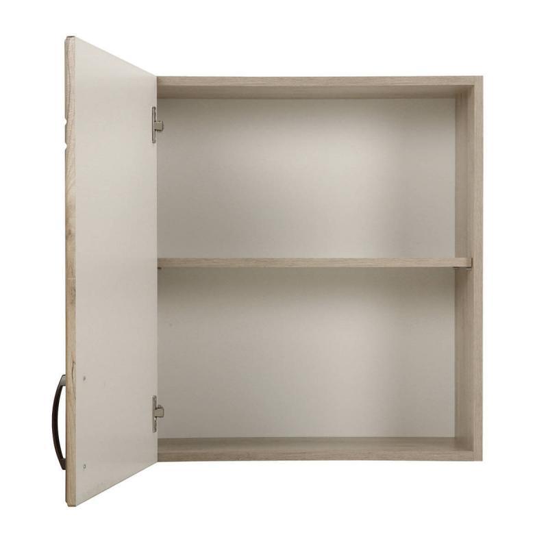 Шкаф навесной «Камила Ал» с фасадом 67.6х60 см, цвет светлый каштан