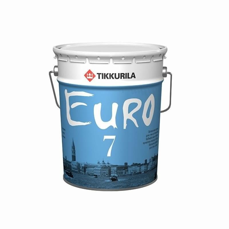 Краска водно-дисперсионная ЕВРО 7, 18 л