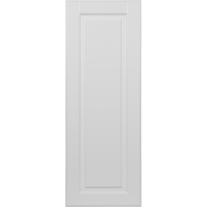 Дверь для шкафа Delinia «Леда белая» 45x92 см, МДФ, цвет белый