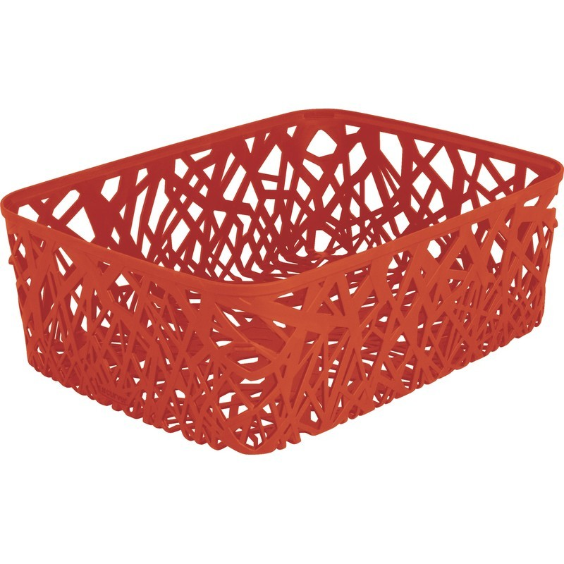 Корзинка прямоугольная Curver Neo красная