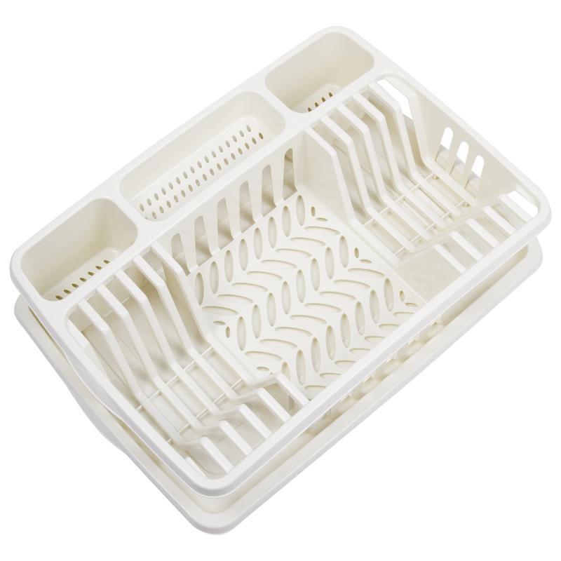 Сушилка для посуды Фланто MIO, 50х33,8х10,4 см, цвет бежевый