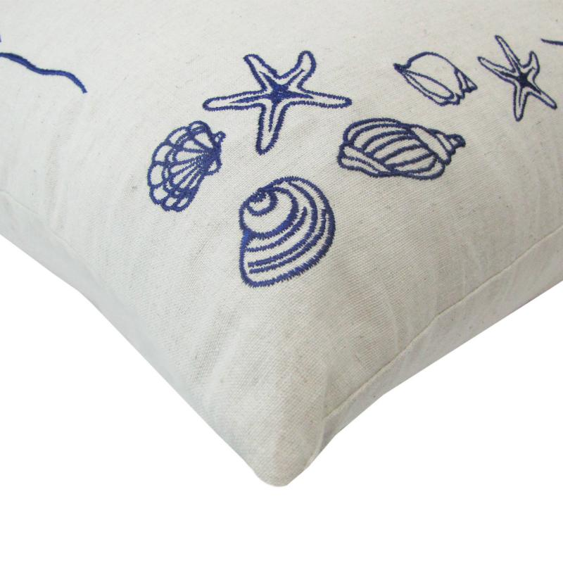 Подушка декоративная «Море: Ракушка», 40х40 см,