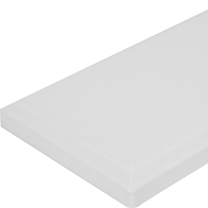 Дверь для ящика под духовку Delinia «Леда белая» 60x10 см, МДФ, цвет белый