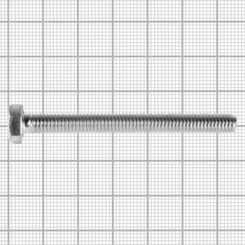 Болт DIN 933 M6x60 мм, на вес