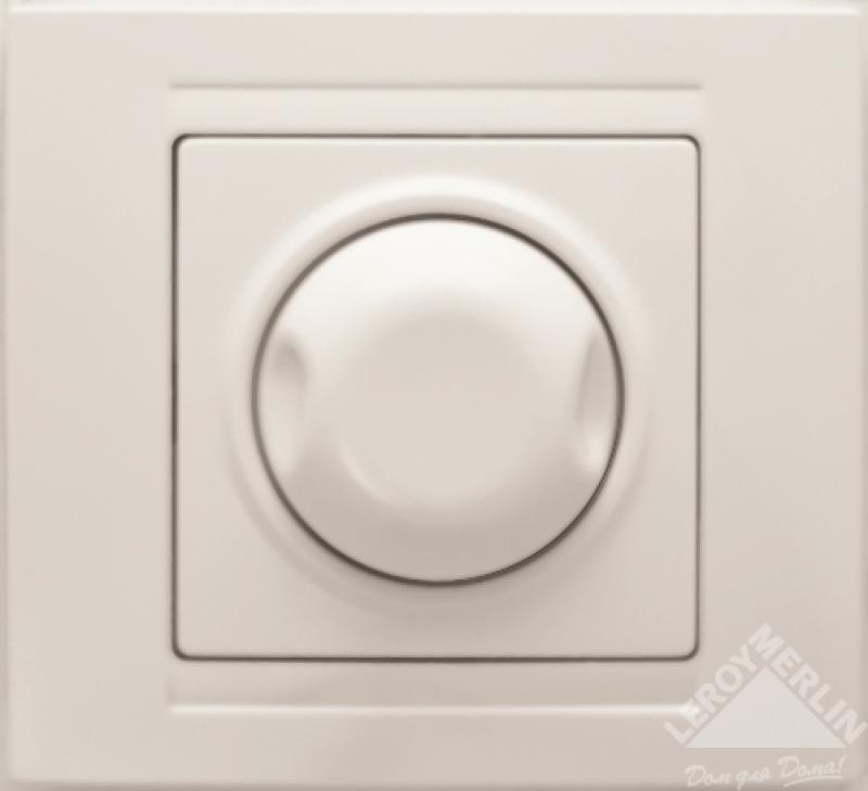 Диммер Gunsan Moderna с подсветкой, цвет белый