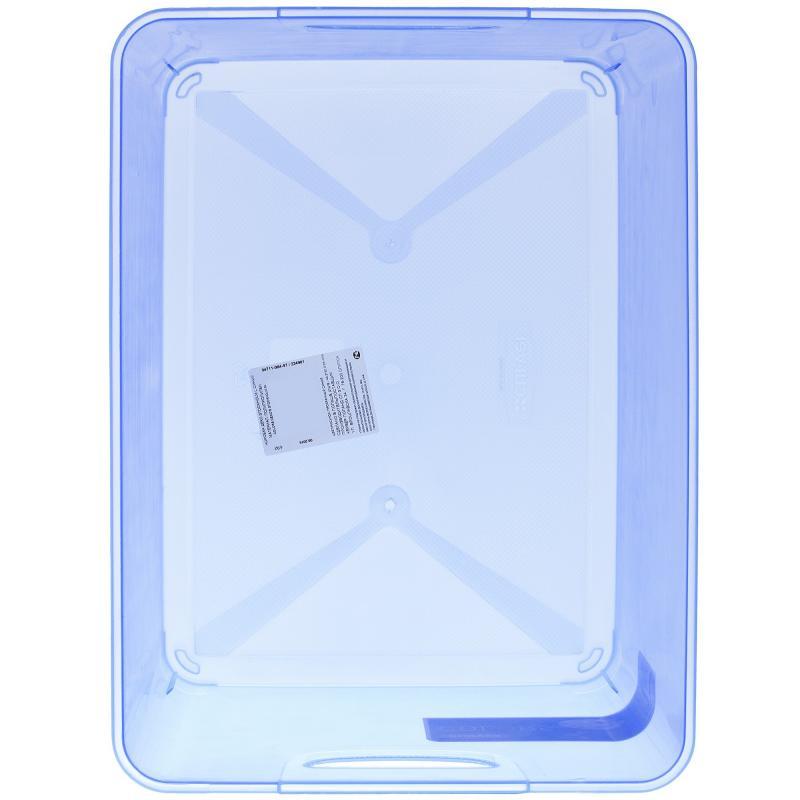 Коробка Curver Stockholm L пластик цвет синий