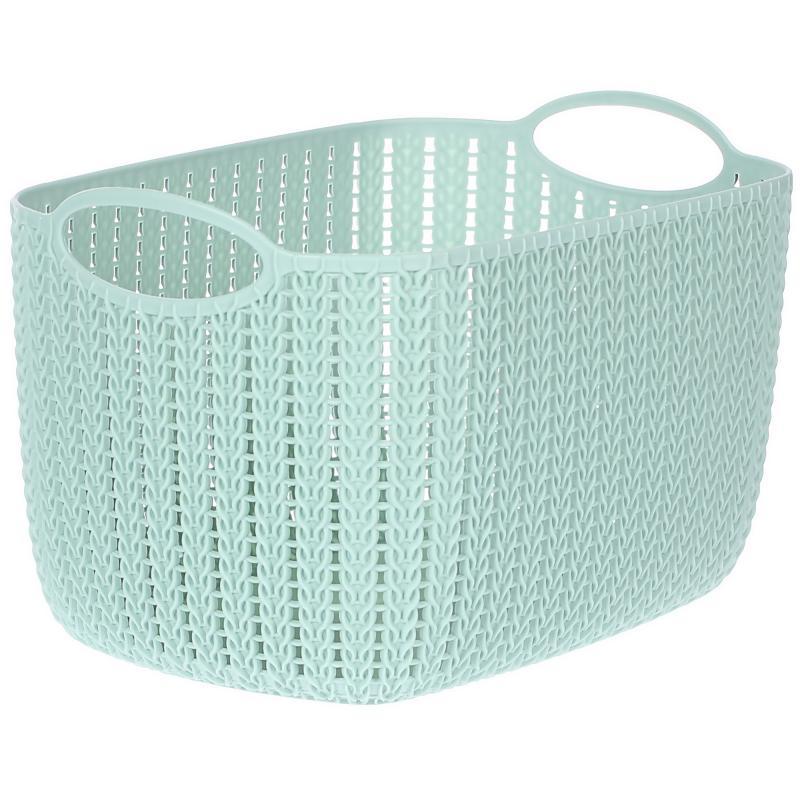 Корзина для хранения «Вязание», 7 л, цвет фисташковый