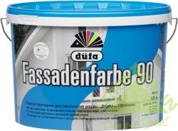 Краска фасадная Dufa Fassadenfarbe, 10 л, цвет белый