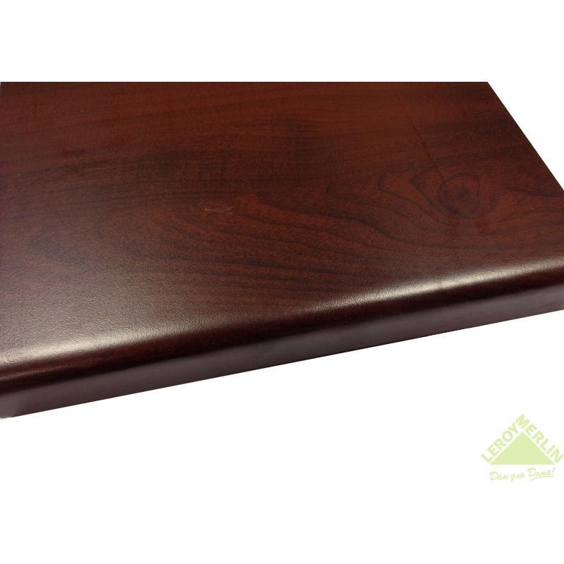 Столешница №1554, ЛДСП, цвет мирт коричневый