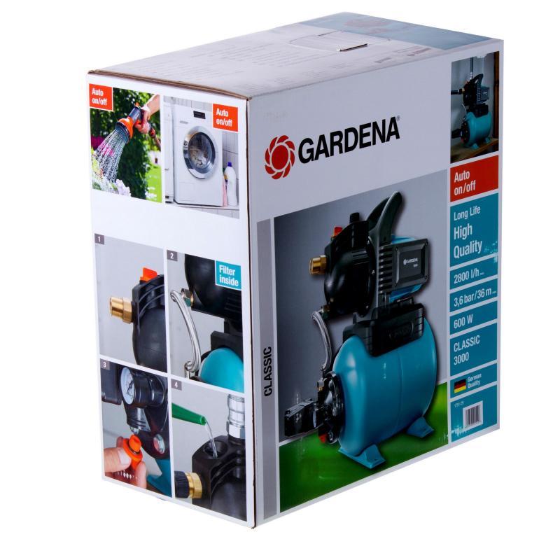 Насосная станция Gardena Classic 3000/4, 2800 л/час